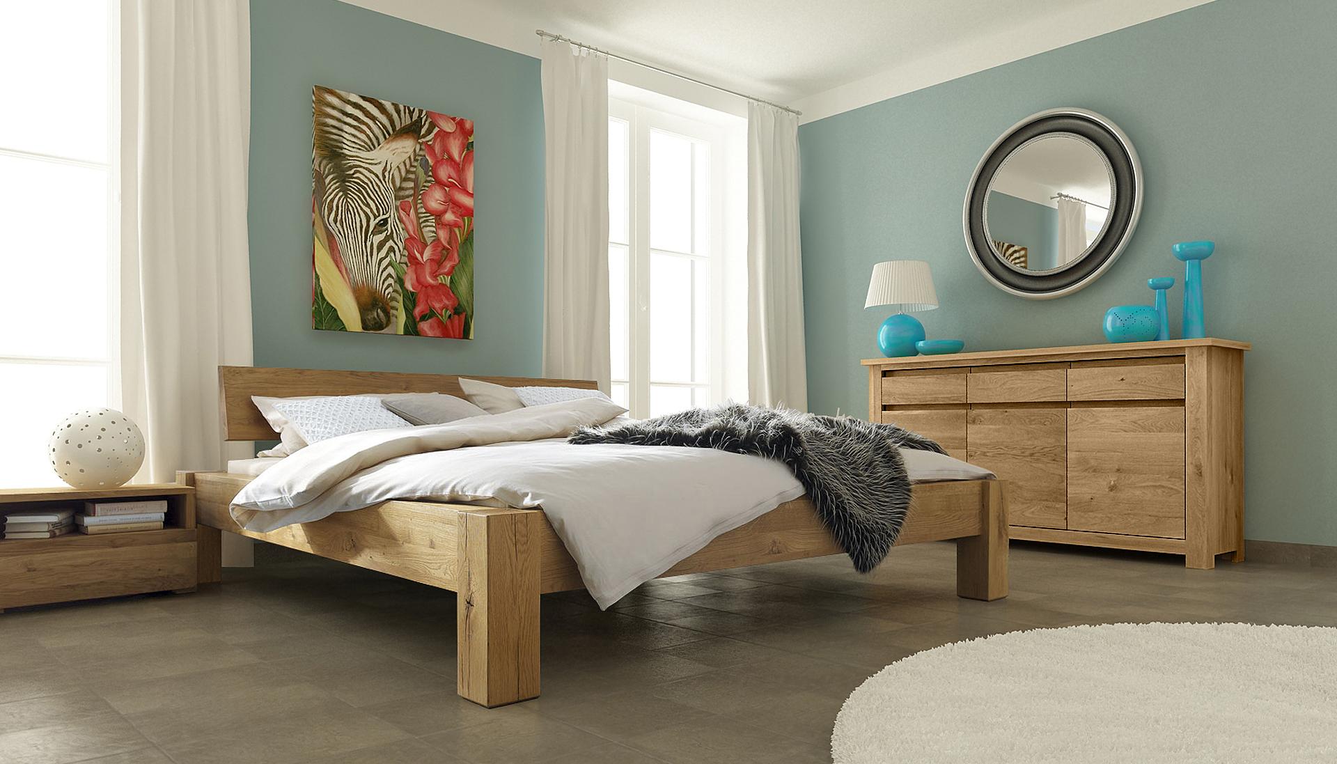 łóżka Drewniane Do Sypialni Nowoczesne Meble Ludwik Styl